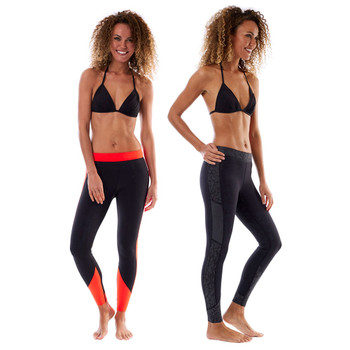 Jobe Verona Reversible Legging - Women - 1.5mm - Red/Black