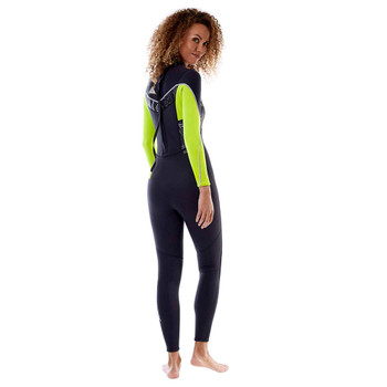 Jobe Sofia Full Wetsuit - Women - 3/2mm - Lime Green - Side View