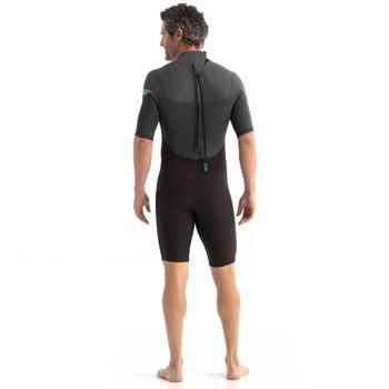 Jobe Perth Men's Shorty 3/2mm Wetsuit  - Graphite Grey - back
