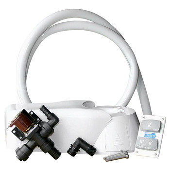 Jabsco Quiet Flush Electric Kit - Fresh Water - 12V (25A)