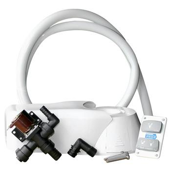 Jabsco Quiet Flush Electric Kit - Fresh Water - 24V (15A)