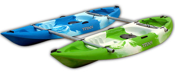 Titan Twix Sit-on Kayak - Catamaran Package