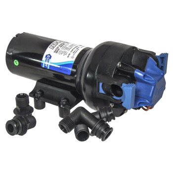 Jabsco Par Max Plus Series 5.0 GPM Pressure-Controlled Pump - 24V - 60psi