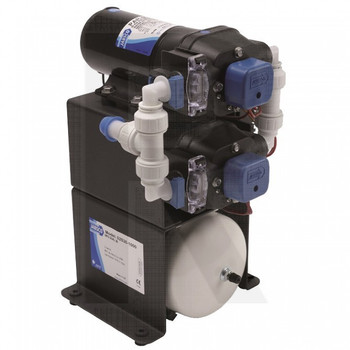 Jabsco Double Stack Water System - 9 GPM - 24V