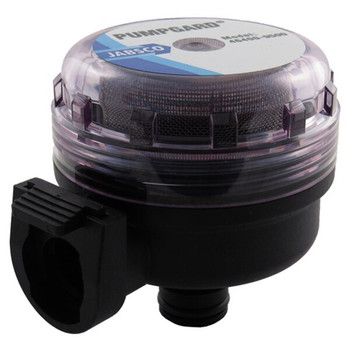Jabsco Water Pumpgard Snap-In Strainer - 90 degree - 40 Fine Mesh - Side View