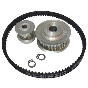 Jabsco Lite Flush Toilet Gear Pulley and Belt Kit