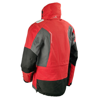 Plastimo Active Sailing Jacket - Men - Red - Back view