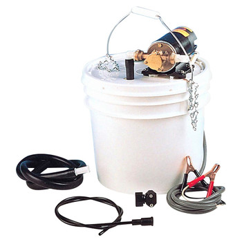 Jabsco Lubricating Oil Change Pump Kit - 12V (15A)