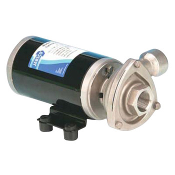 Jabsco Low Pressure Cyclone Centrifugal Circulation Pump - NPT Ports - 24V (7A)