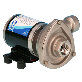 Jabsco High Pressure Cyclone Centrifugal Circulation Pump - NPT Ports - 24V (13A)
