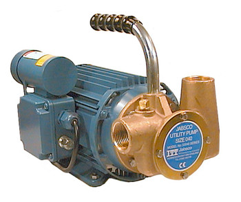 Jabsco 53040 Dockside Utility Flexible Pump - Neoprene Impeller - 220V