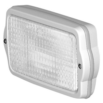 Jabsco Flush Mount Halogen Floodlight with Flood Beam - 12V (5A)