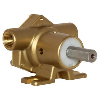 Jabsco 51510 Bronze Pump - 2.3 GPM - Back View