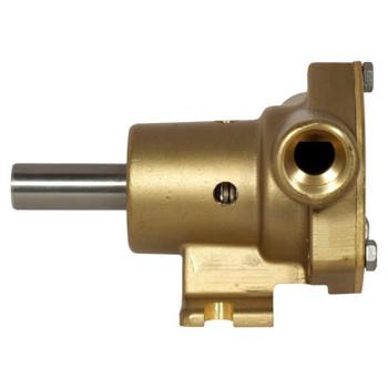 Jabsco 51510 Bronze Pump - 2.3 GPM - Side View