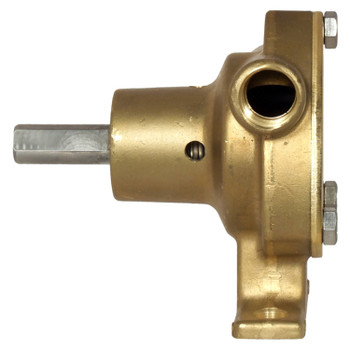 Jabsco 51520 Bronze Pump - 4 GPM - Side View