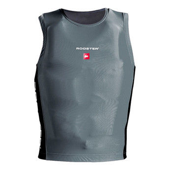Rooster Race Bib - Grey