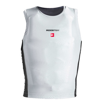 Rooster Race Bib - white