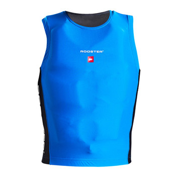 Rooster Race Bib - signal blue