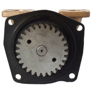 "Jabsco Engine Cooling Pump - 3/4"" Flanged - Back View"