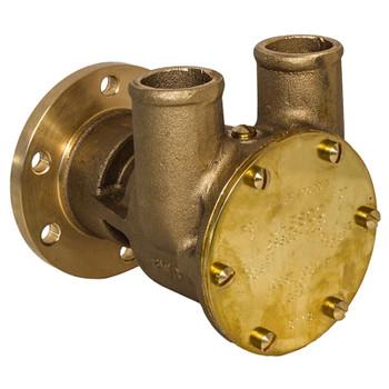 Jabsco Flexible Impeller Bronze Pump - 80 - 32mm Hose