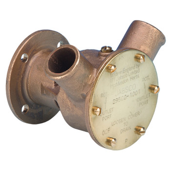 Jabsco Flexible Impeller Bronze Pump - 40 - 28mm Hose