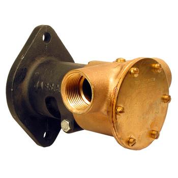 """Jabsco Flexible Impeller Bronze Pump - 80 - 1"""" BSP - Flange"""