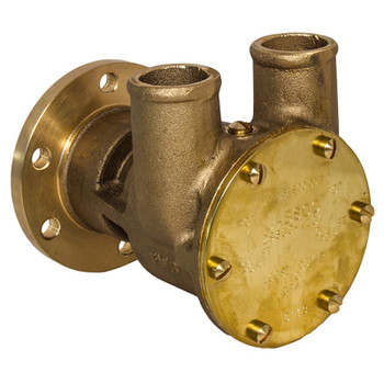 Jabsco Flexible Impeller Bronze Pump - 80 - Flange