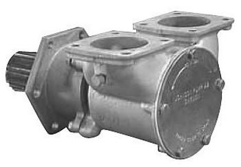 Jabsco Flexible Impeller Bronze Pump - 270 - Flange