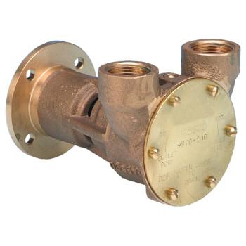 """Jabsco Flexible Impeller Bronze Pump - 3/4"""" BSP - Flange"""