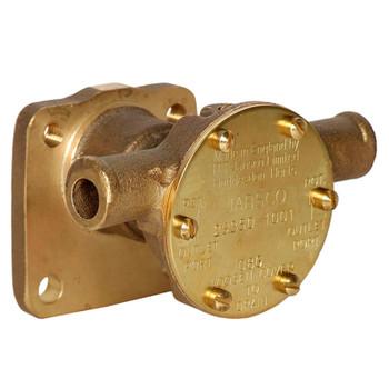 "Jabsco Flexible Impeller Bronze Pump - 10 - 18"" Hose"