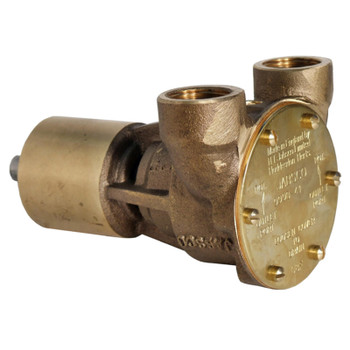 "Jabsco Flexible Impeller Bronze Pump - 40 - 3/4"" NPT"