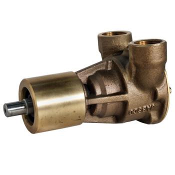 "Jabsco Flexible Impeller Bronze Pump - 40 - 3/4"" NPT - Side View"