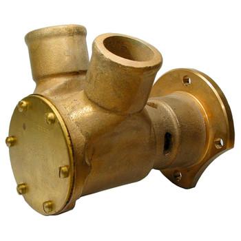 Jabsco Flexible Impeller Bronze Pump - 120 - 45mm Hose - Flange
