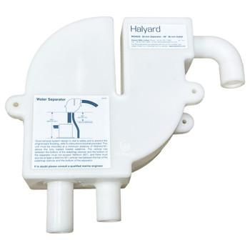 Halyard Marine Exhaust Water Separator MS4020 38mm 90° Bend