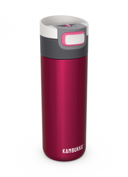 Kambukka ETNA Thermal Mug 500ml with 3-in-1 Snapclean Lid - BlackberryKambukka ETNA Thermal Mug 500ml with 3-in-1 Snapclean Lid - Blackberry