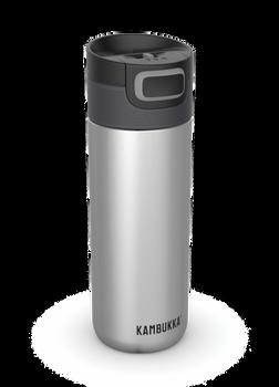 Kambukka ETNA Thermal Mug 500ml with 3-in-1 Snapclean Lid - Silver
