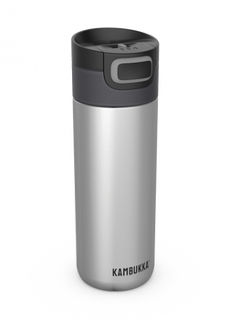 Kambukka ETNA Thermal Mug 500ml with 3-in-1 Snapclean Lid - Silver