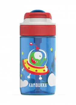 Kambukka LAGOON Water Bottle 400ml with Spout Lid - Happy Alien