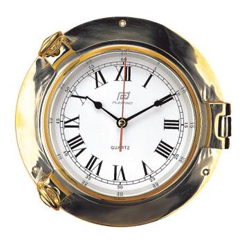 "Plastimo 6"" Brass Clock 12763"