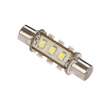 LED Festoon 43 Navigation Bulb - White