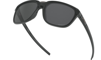 Oakley Anorak Sunglasses - Matte Black / Prizm Black Polarised Lower Angle