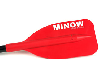 RUK Minow Childrens Canoe Paddle Red