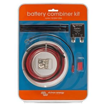 Victron Energy Cyrix-ct Battery Combiner Kit - 12V/24V (120A)