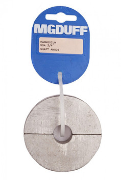 MGDuff Magnesium Shaft Collar Anodes 3/4""