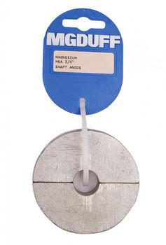 "MGDuff Magnesium Shaft Collar Anodes 3/4"""