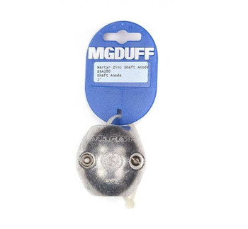 MGDuff Martyr ZSA Shaft Anodes - Zinc Imperial Sizes ZSA75 3/4""
