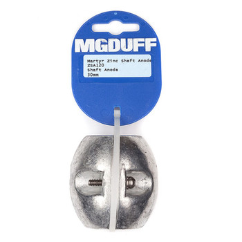 MGDuff Zinc Martyr Shaft Anode 30mm ZSA120