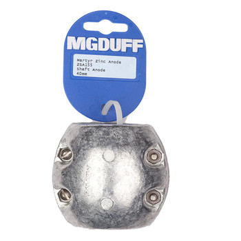 MGDuff Zinc Martyr Shaft Anode 40mm ZSA155