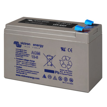 Victron Energy AGM Deep Cycle Battery - 12V (8Ah) - Side View