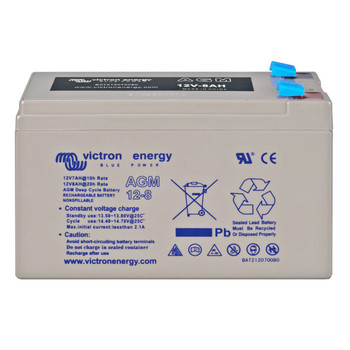 Victron Energy AGM Deep Cycle Battery - 12V (8Ah)